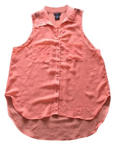 Rue 21 Button Down Shirt Peach