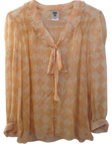 Anna Sui Top Peach