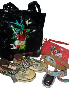Ed Hardy Tote in Black