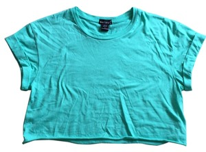 Wet Seal T Shirt Aqua