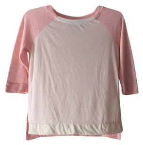 Derek Heart Top Cream and Pink