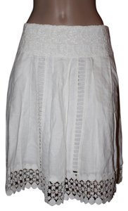 Boston Proper Skirt white