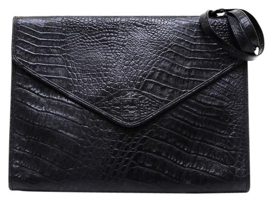 Preload https://item3.tradesy.com/images/fendi-moc-croc-portfolio-briefcase-envelope-black-leather-clutch-5289022-0-0.jpg?width=440&height=440