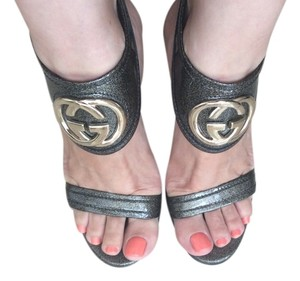 Gucci Grey Sandals