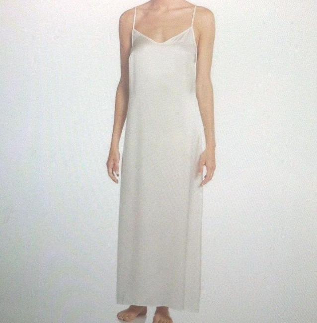 Item - Natural White Dolce Silk Nightgown