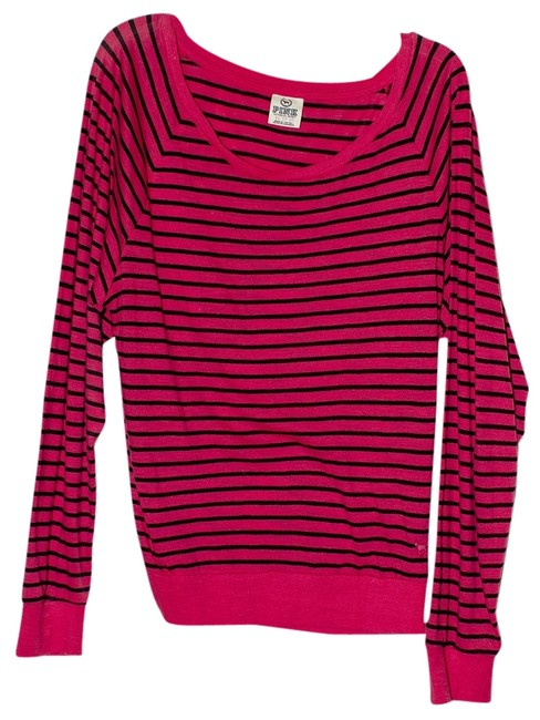 Preload https://item2.tradesy.com/images/pink-pinkblue-sweatshirthoodie-size-2-xs-528966-0-0.jpg?width=400&height=650