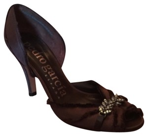 Pedro Garcia Brown Pumps