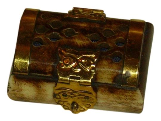 Other Golden Jewelry Bone Box