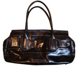 AK Anne Klein Leather Classic Shoulder Bag