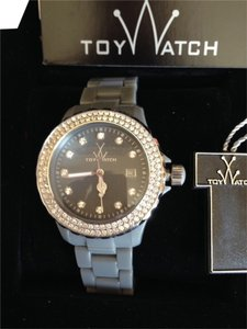 ToyWatch New Toy Watch Silicone bracelet, Swarovski elements bezel and dial