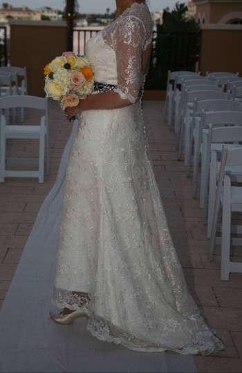 Classic Vintage Gown Wedding Dress
