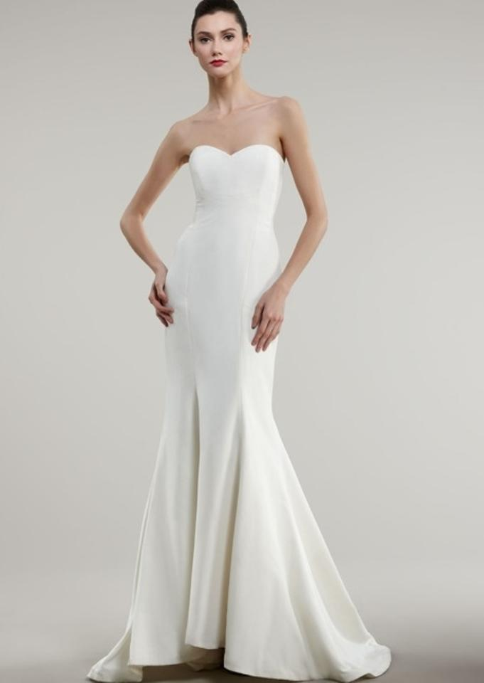 Nicole miller trumpet wedding dress tradesy weddings for Nicole miller dresses wedding
