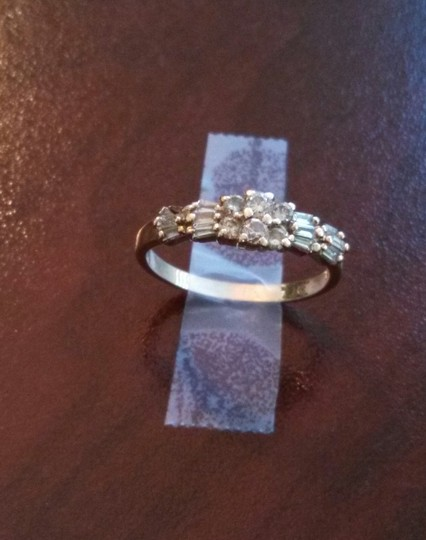 14k Solid Yellow Gold Diamond Engagement Rings