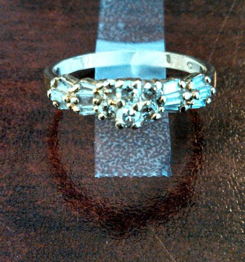 14k Solid Yellow Gold Diamond Engagement Ring
