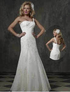 Forever Yours Wedding Dress Size 8 (M)