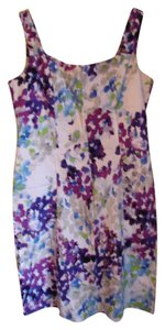 Scarlett short dress multi Party Summer Sprint Watercolor on Tradesy