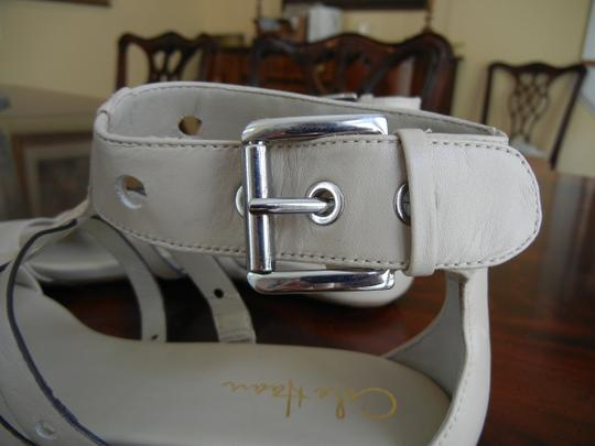 Cole Haan Gladiator Ankle Strap Nike Air Cream Sandals