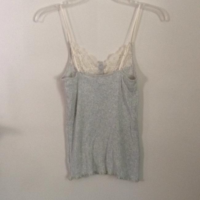 Gap Top Gray & cream