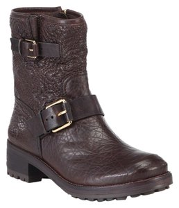 Tory Burch Chrystie Quilted Brown Boots