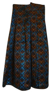 DKNY Silk Geo Skirt multi