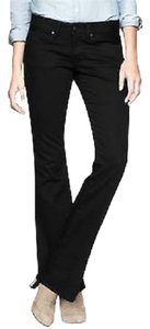 Gap 1969 1969 Black Boot Cut Jeans-Dark Rinse