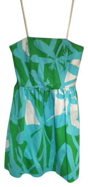 Preload https://item1.tradesy.com/images/lilly-pulitzer-blue-green-and-white-40741-above-knee-cocktail-dress-size-2-xs-5291665-0-0.jpg?width=400&height=650