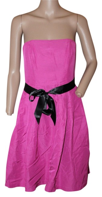 Preload https://item2.tradesy.com/images/tommy-hilfiger-bright-pink-strapless-short-cocktail-dress-size-10-m-5292121-0-0.jpg?width=400&height=650
