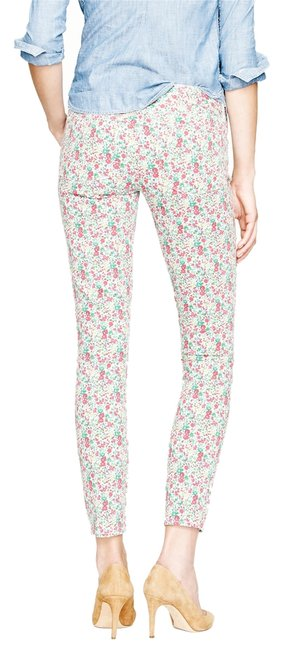Item - Multi-color Floral Liberty Ankle Toothpick In Emma and Georgina Print Skinny Jeans Size 25 (2, XS)