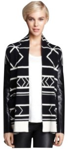Twelfth St. by Cynthia Vincent Black/ white Leather Jacket
