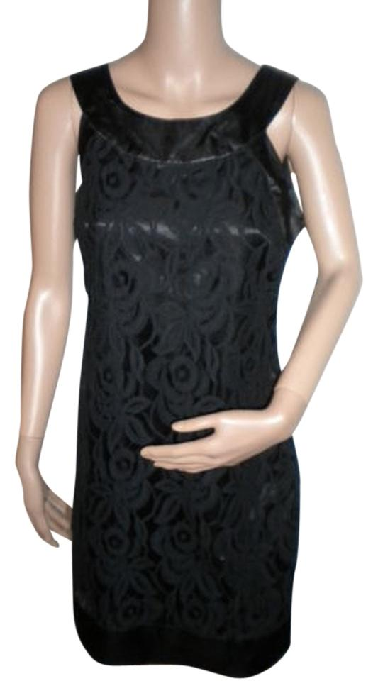 5821a108ef Signature by Robbie Bee Black Short Cocktail Dress Size 6 (S) - Tradesy