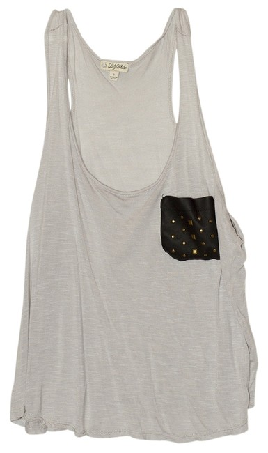 Preload https://item3.tradesy.com/images/forever-21-grayfaux-leather-studded-pocket-tank-topcami-size-2-xs-529252-0-0.jpg?width=400&height=650