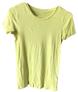 J.Crew T Shirt Yellow