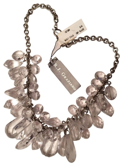 Preload https://img-static.tradesy.com/item/529259/rj-graziano-clear-crystal-ice-necklace-0-1-540-540.jpg