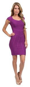 Stretta short dress Fushia on Tradesy