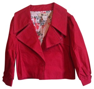 Wet Seal Dark Red Jacket