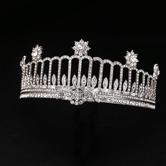 Silver Column Star 18-kt Gold Plated Tiaras