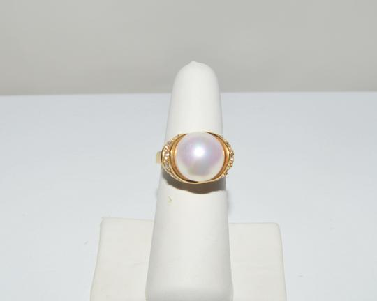 Pearlfection Pearlfection Classic White Faux South Sea Pearl Ring 7