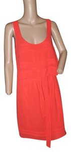 Studio M short dress persimmon on Tradesy