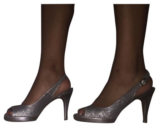 Other Silver Pumps