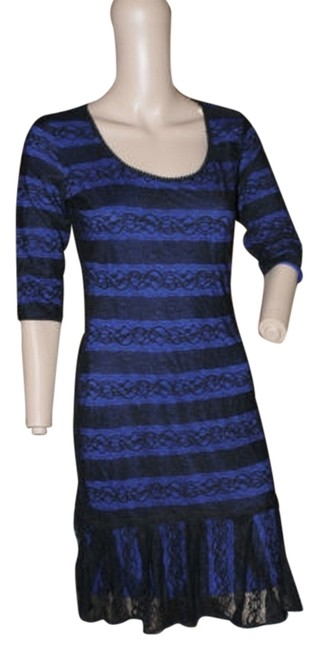 Preload https://item2.tradesy.com/images/studio-m-bold-blue-and-black-lace-knee-length-workoffice-dress-size-6-s-5293771-0-0.jpg?width=400&height=650