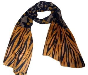 Bindya New york Bindya NY Cashmere Blend Digital Print Scarf