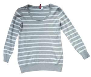 Divided by H&M Top Grey and white