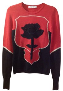 VIKTOR & ROLF Intarsia Rose Design Sweater