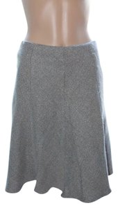 Studio Y Skirt blue tweed brown