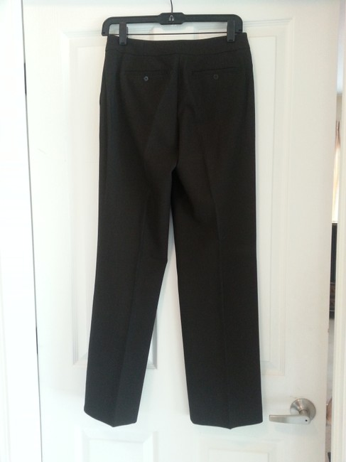 Ann Taylor Stretchy Trouser Pants Chocolate Brown