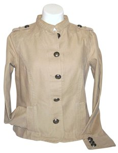 Old Navy Beige Tan Brown Military Jacket
