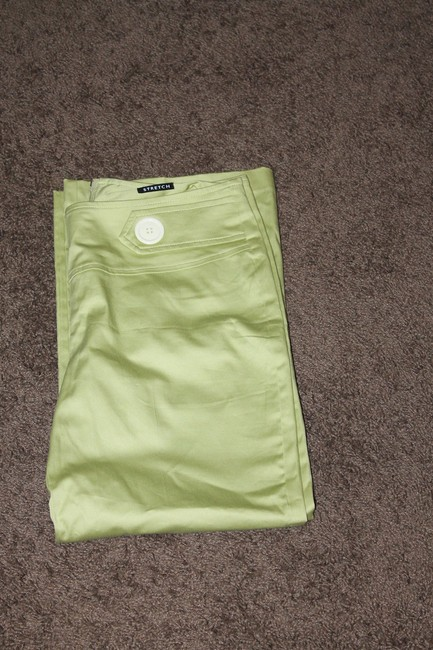 Studio Y Capris lime green
