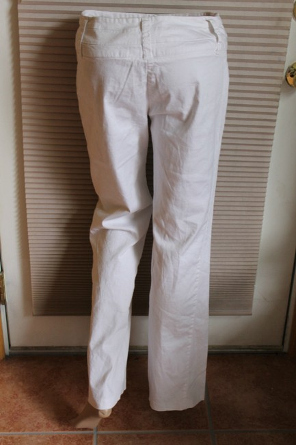 Studio Y Straight Pants white