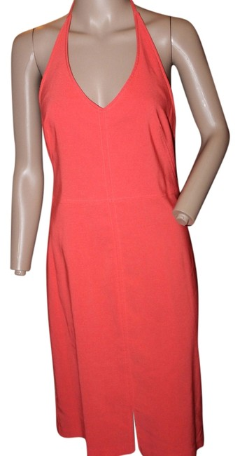 Preload https://item2.tradesy.com/images/coral-sleek-halter-short-casual-dress-size-8-m-5294956-0-0.jpg?width=400&height=650