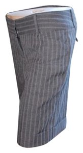 Studio Y Shorts pinstripe gray